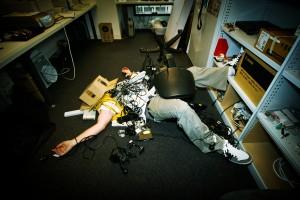 Image of work place injury