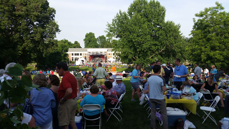 Great American Brass Band Festival in Boyle County Kentucky