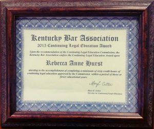 Attorney Rebecca Hurst Danville KY