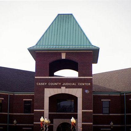 Casey Co Judicial Center square
