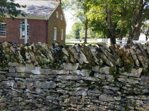 Mercer Co KY Rock Fence
