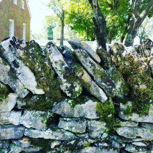 Rock Fence in Mercer County KY