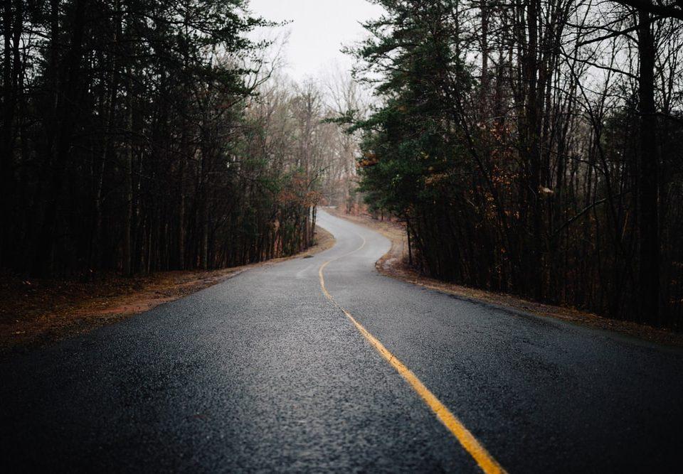 Rainy highway